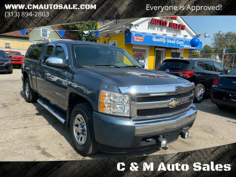 2008 Chevrolet Silverado 1500 for sale at C & M Auto Sales in Detroit MI