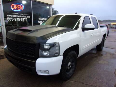 2012 Chevrolet Silverado 1500 for sale at World Wide Automotive in Sioux Falls SD