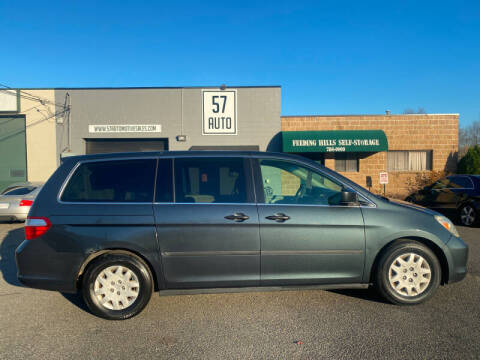 2005 Honda Odyssey for sale at 57 AUTO in Feeding Hills MA