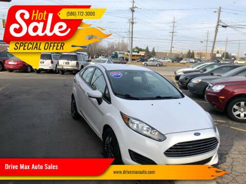 2014 Ford Fiesta for sale at Drive Max Auto Sales in Warren MI