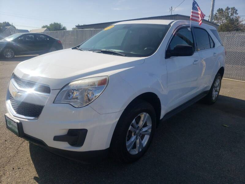 2011 Chevrolet Equinox for sale at Artistic Auto Group, LLC in Kennewick WA