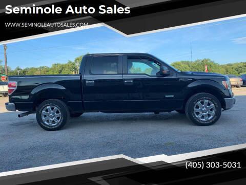 2013 Ford F-150 for sale at Seminole Auto Sales in Seminole OK