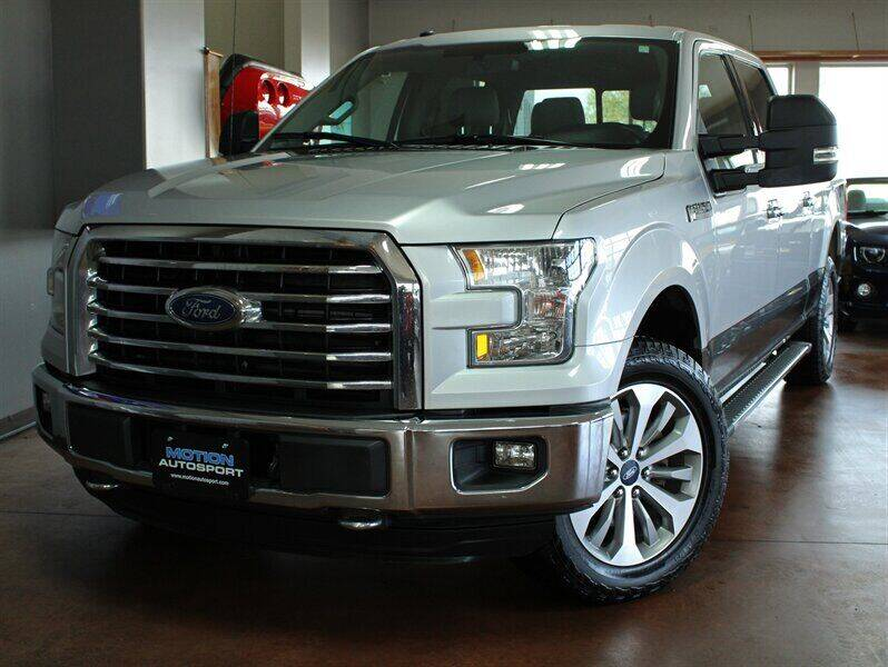 2016 Ford F-150 for sale at Motion Auto Sport in North Canton OH
