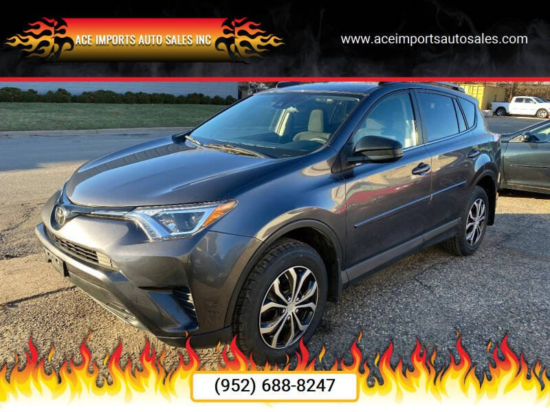 2017 Toyota RAV4 for sale at ACE IMPORTS AUTO SALES INC in Hopkins MN
