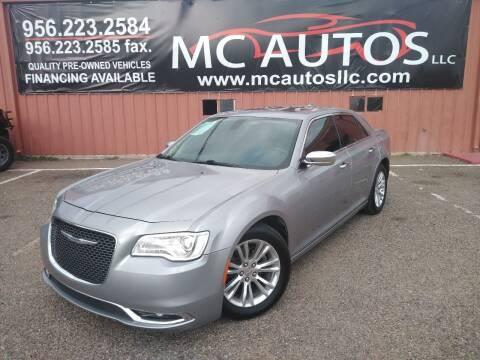 2017 Chrysler 300 for sale at MC Autos LLC in Pharr TX