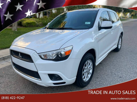 2012 Mitsubishi Outlander Sport for sale at Trade In Auto Sales in Van Nuys CA
