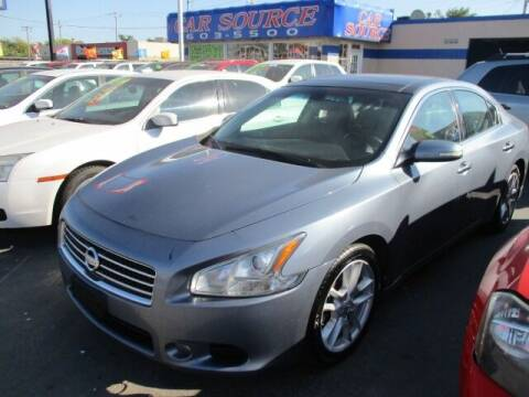 2010 Nissan Maxima for sale at CAR SOURCE OKC in Oklahoma City OK