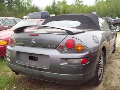 2003 Mitsubishi Eclipse Spyder for sale at Frank Coffey in Milford NH