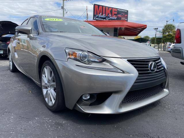 2015 Lexus IS 250 for sale at Mike Auto Sales in West Palm Beach FL
