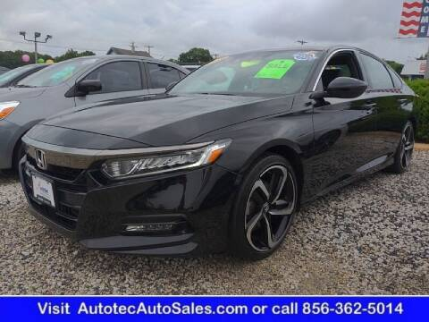 2018 Honda Accord for sale at Autotec Auto Sales in Vineland NJ