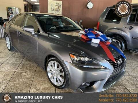 2016 Lexus IS 300 for sale at Amazing Luxury Cars in Snellville GA