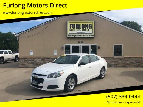 2015 Chevrolet Malibu for sale at Furlong Motors Direct in Faribault MN
