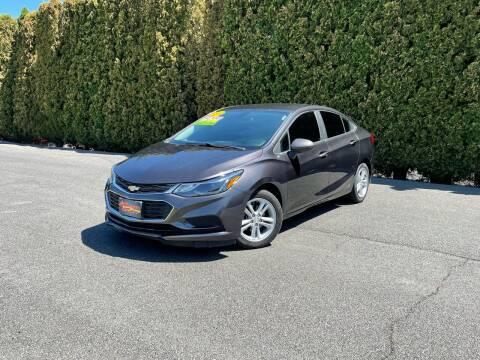 2016 Chevrolet Cruze for sale at Yaktown Motors in Union Gap WA