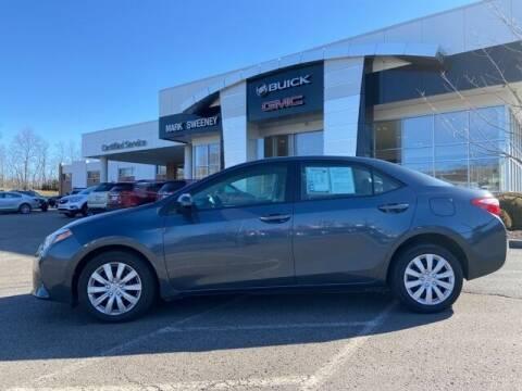 2016 Toyota Corolla for sale at Mark Sweeney Buick GMC in Cincinnati OH