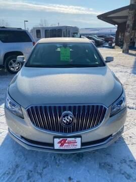 2014 Buick LaCrosse for sale at Four Guys Auto in Cedar Rapids IA