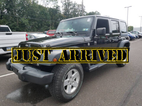 2017 Jeep Wrangler Unlimited for sale at BRYNER CHEVROLET in Jenkintown PA