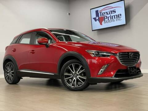 2016 Mazda CX-3 for sale at Texas Prime Motors in Houston TX