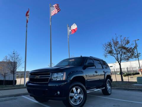 2007 Chevrolet Tahoe for sale at TWIN CITY MOTORS in Houston TX