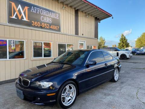 2004 BMW 3 Series for sale at M & A Affordable Cars in Vancouver WA