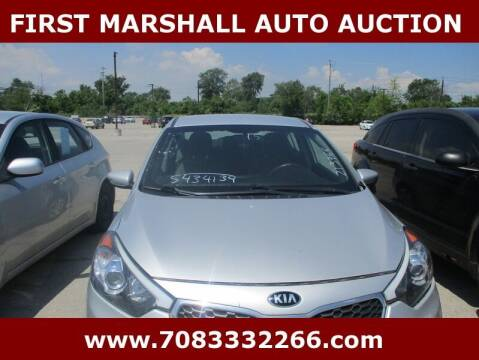 2015 Kia Forte for sale at First Marshall Auto Auction in Harvey IL
