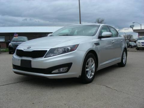 2013 Kia Optima for sale at EURO MOTORS AUTO DEALER INC in Champaign IL