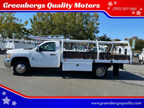 2008 Chevrolet Silverado 3500HD CC for sale at Greenbergs Quality Motors in Napa CA