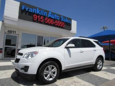 2015 Chevrolet Equinox for sale at Franklin Auto Sales in El Paso TX
