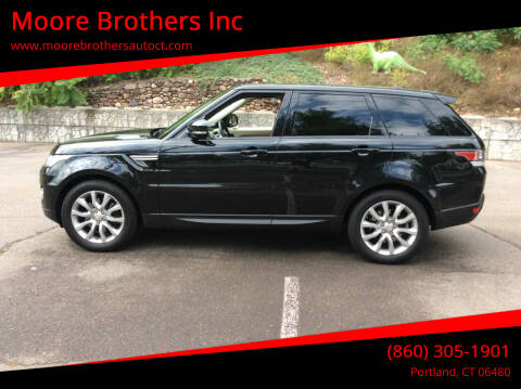 2014 Land Rover Range Rover Sport for sale at Moore Brothers Inc in Portland CT