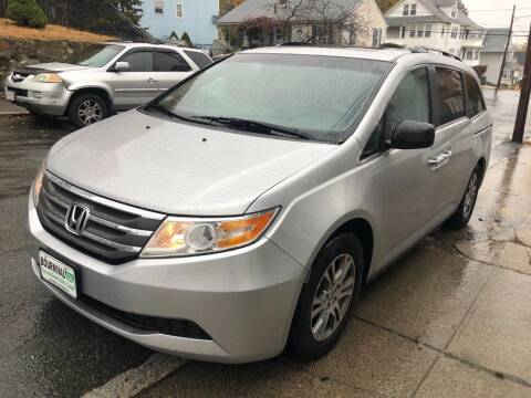 2011 Honda Odyssey for sale at Welcome Motors LLC in Haverhill MA