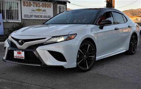 2018 Toyota Camry for sale at AMC Auto Sales, Inc. in Fremont CA