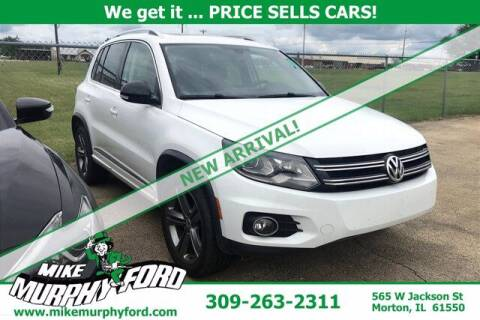 2017 Volkswagen Tiguan for sale at Mike Murphy Ford in Morton IL