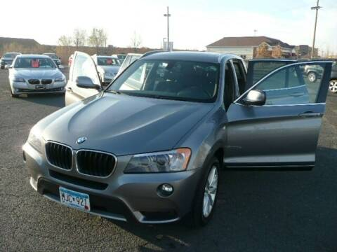 2013 BMW X3 for sale at Prospect Auto Sales in Osseo MN