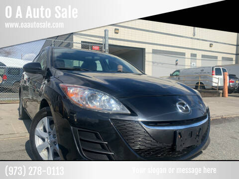 2010 Mazda MAZDA3 for sale at O A Auto Sale in Paterson NJ