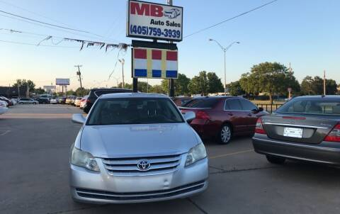 2006 Toyota Avalon for sale at MB Auto Sales in Oklahoma City OK