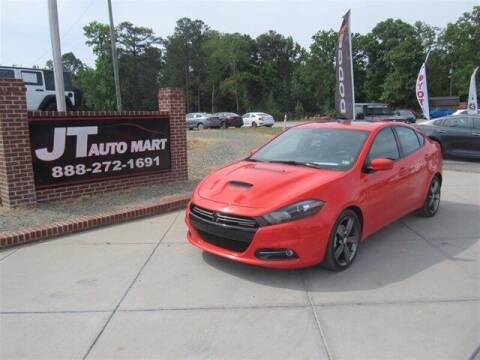 2016 Dodge Dart for sale at J T Auto Group in Sanford NC