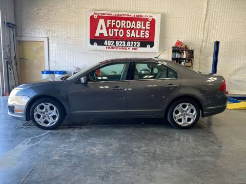 2011 Ford Fusion for sale at Affordable Auto Sales in Humphrey NE