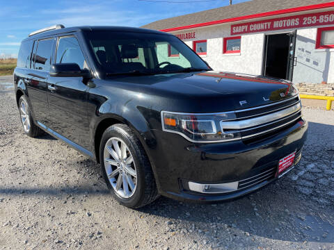 2013 Ford Flex for sale at Sarpy County Motors in Springfield NE