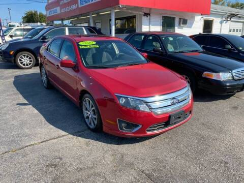 2010 Ford Fusion for sale at Sandy Lane Auto Sales and Repair in Warwick RI