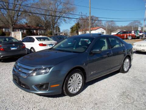 2012 Ford Fusion Hybrid for sale at Carolina Auto Connection & Motorsports in Spartanburg SC