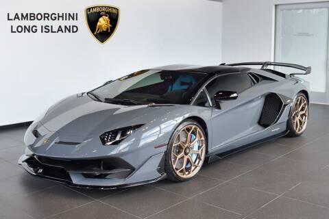 2021 Lamborghini Aventador for sale at Bespoke Motor Group in Jericho NY
