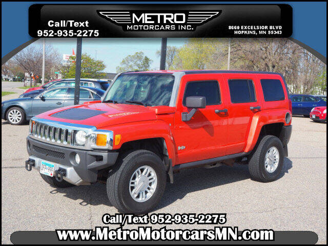 2008 HUMMER H3 for sale at Metro Motorcars Inc in Hopkins MN
