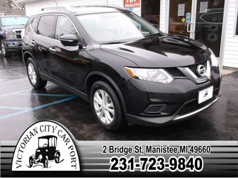 2015 Nissan Rogue for sale at Victorian City Car Port INC in Manistee MI
