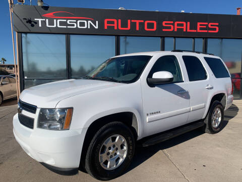 2007 Chevrolet Tahoe for sale at Tucson Auto Sales in Tucson AZ