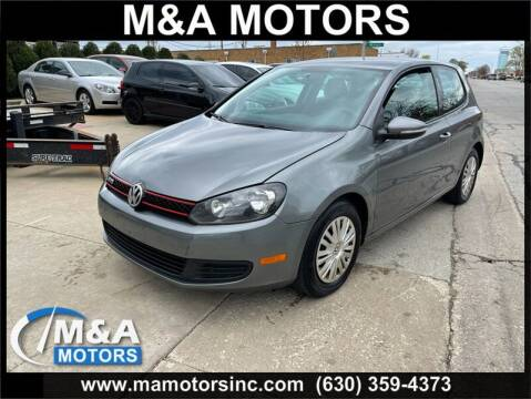 2012 Volkswagen Golf for sale at M & A Motors in Addison IL