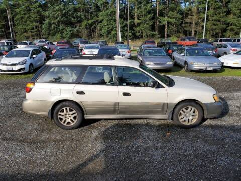 2002 Subaru Outback for sale at WILSON MOTORS in Spanaway WA