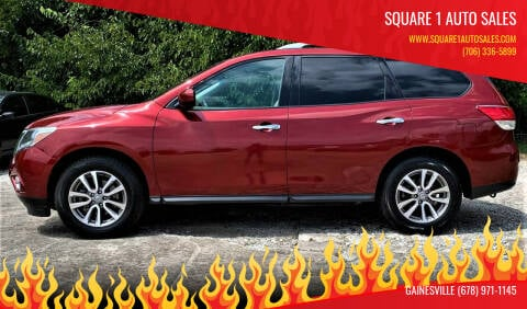 2016 Nissan Pathfinder for sale at Square 1 Auto Sales in Commerce GA