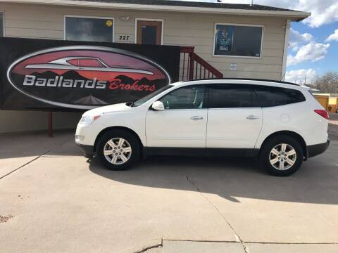 2012 Chevrolet Traverse for sale at Badlands Brokers in Rapid City SD