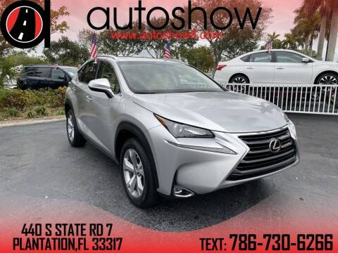 2017 Lexus NX 200t for sale at AUTOSHOW SALES & SERVICE in Plantation FL