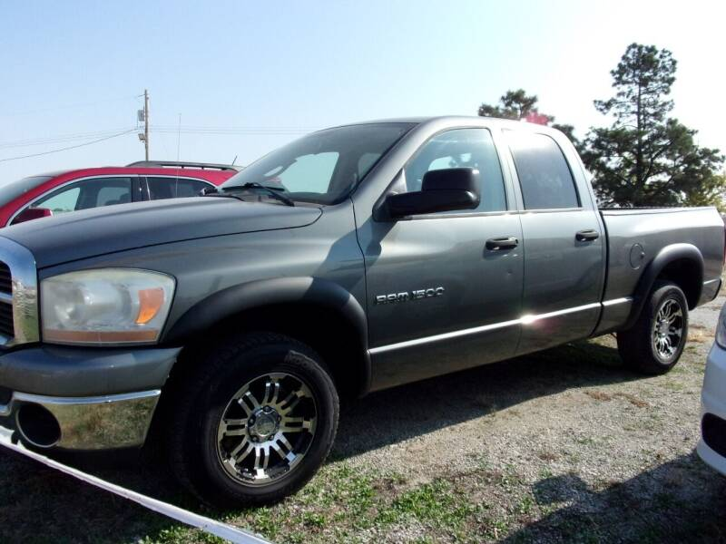 2006 Dodge Ram Pickup 1500 for sale at CHUCK ROGERS AUTO LLC in Tekamah NE