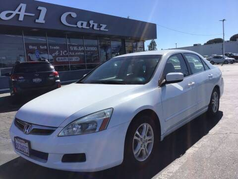 2007 Honda Accord for sale at A1 Carz, Inc in Sacramento CA